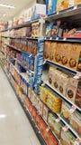 Еда супермаркета Стоковое Изображение
