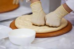 Еда таблицы шведского стола Стоковые Изображения
