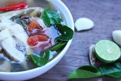 Еда Таиланда супа рыб Стоковое Изображение