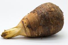 Еда таро на белой предпосылке Стоковая Фотография