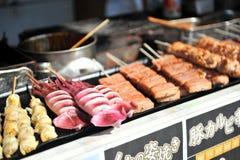 Еда улицы (Япония) Стоковые Изображения RF