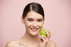 еда яблока Стоковые Изображения RF