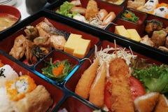 Еда японца бенто Стоковые Фотографии RF