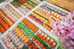Еда японца суш Стоковые Изображения