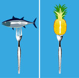 Еда для артрита Стоковые Фото