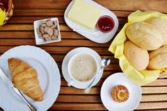Еда для завтрака Стоковое Изображение RF