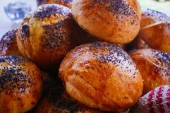 Еда для серии Foodies - пармезан Buns#1 Стоковая Фотография RF