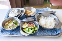 Еда для стационарных больных Стоковые Фотографии RF