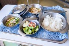 Еда для стационарных больных Стоковые Изображения RF