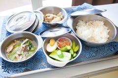 Еда для стационарных больных Стоковые Фото