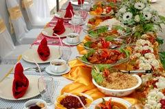 еда доставки с обслуживанием Стоковая Фотография
