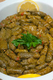 Среднеземноморская еда Стоковые Фото