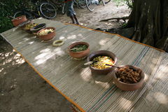 Еда Sri lankan Стоковые Фотографии RF
