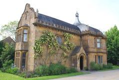 Елизаветинская архитектура в Сомерсете, Англии Стоковые Изображения