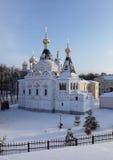 Елизаветинская церковь в Кремле Dmitrov. Стоковая Фотография