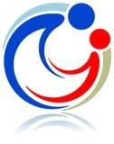 единение логоса Стоковые Изображения RF
