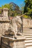 Единорог около стробов Mirabell садовничает, Зальцбург, Австрия стоковое фото
