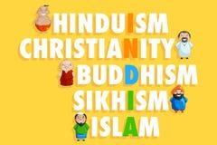 Единство в разнообразии Стоковые Изображения