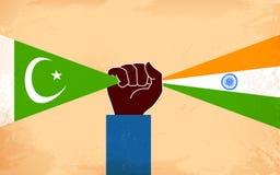 Единство Индии и Пакистана бесплатная иллюстрация