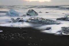 ледник немногая Стоковые Фотографии RF