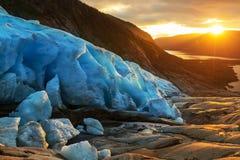 ледник Норвегия Стоковое фото RF
