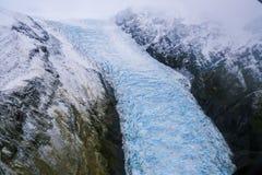 ледник josef Новая Зеландия franz Стоковое Изображение RF