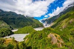 ледник josef Новая Зеландия franz Стоковая Фотография