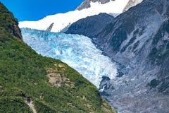ледник josef Новая Зеландия franz Стоковые Фотографии RF