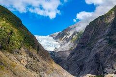 ледник josef Новая Зеландия franz Стоковые Изображения