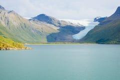 ледник svartisen Стоковые Фото