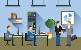 деловая встреча бизнесменов Стоковая Фотография RF