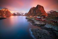 ледовитый восход солнца Стоковое Фото