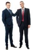 2 делового партнера представляя совместно стоковые изображения