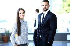 2 делового партнера планируя работу Стоковая Фотография RF