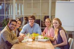 дело имея людей обеда Стоковая Фотография RF