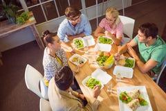 дело имея людей обеда Стоковое Фото