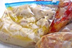 Еды замораживателя Crockpot цыпленка Стоковая Фотография