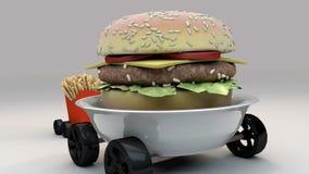 Еды на колесах 4 Стоковое Фото