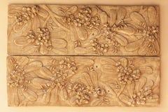 жаждая декоративный орнамент цветка Стоковые Фотографии RF