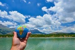 Жажда и экологическая жизнь Стоковое Фото