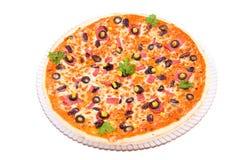 Жалуйтесь пицца стоковое изображение