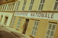 Жандармерия St Tropez, Франция Стоковые Изображения RF