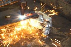 жара взрыва диссугаза Стоковая Фотография