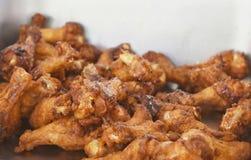 Жареная курица для закуски отдыха или appitizer стоковое фото