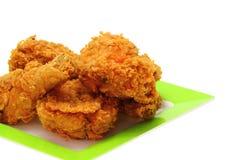 Жареная курица золота Стоковое Изображение