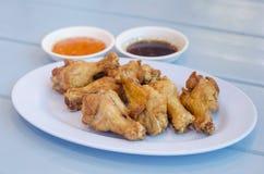 Жареная курица мягкого фокуса тайская Стоковые Изображения RF