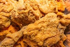 Жареная курица Стоковая Фотография RF