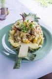 Жареные рисы ананаса Стоковое Фото