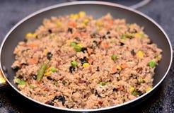 Жареные рисы Стоковое Фото