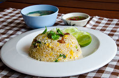 Жареные рисы стоковые фото
